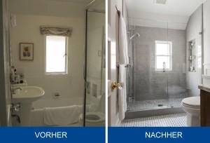 vorhernachher - Badezimmer Renovieren Vorher Nachher